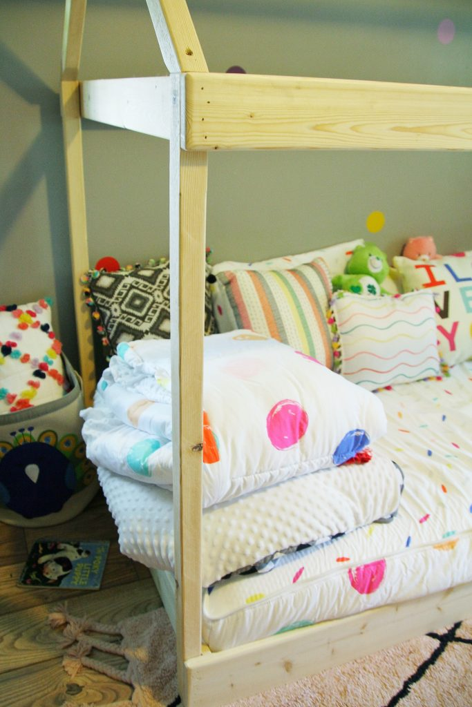 Toddler House Bed DIY