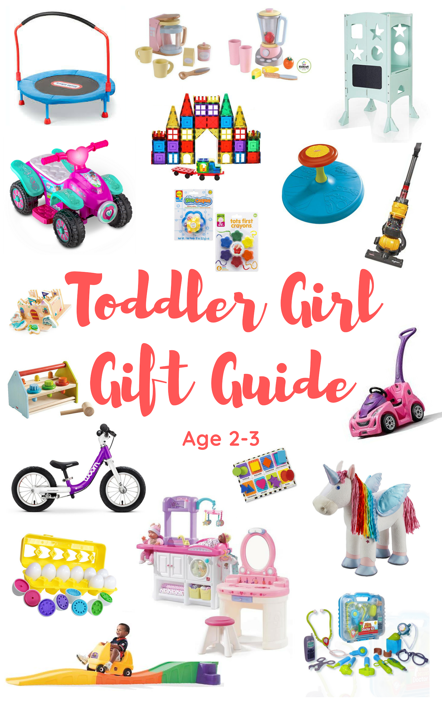 Toddler Girl Gift Guide 2018-Buying The Perfect Gift For The