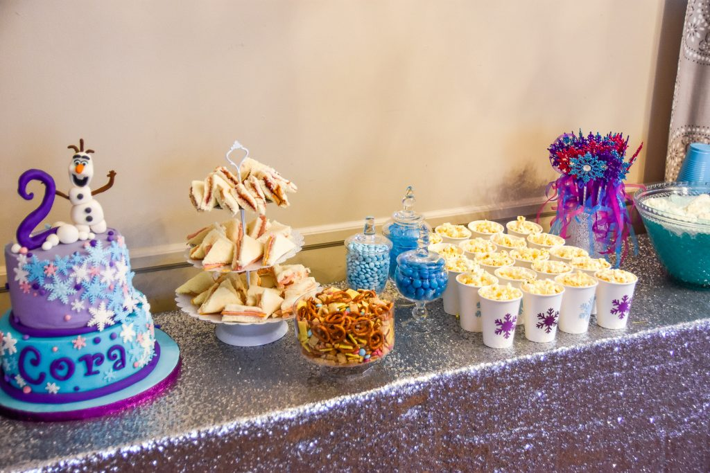 Frozen-themed Birthday Party Food