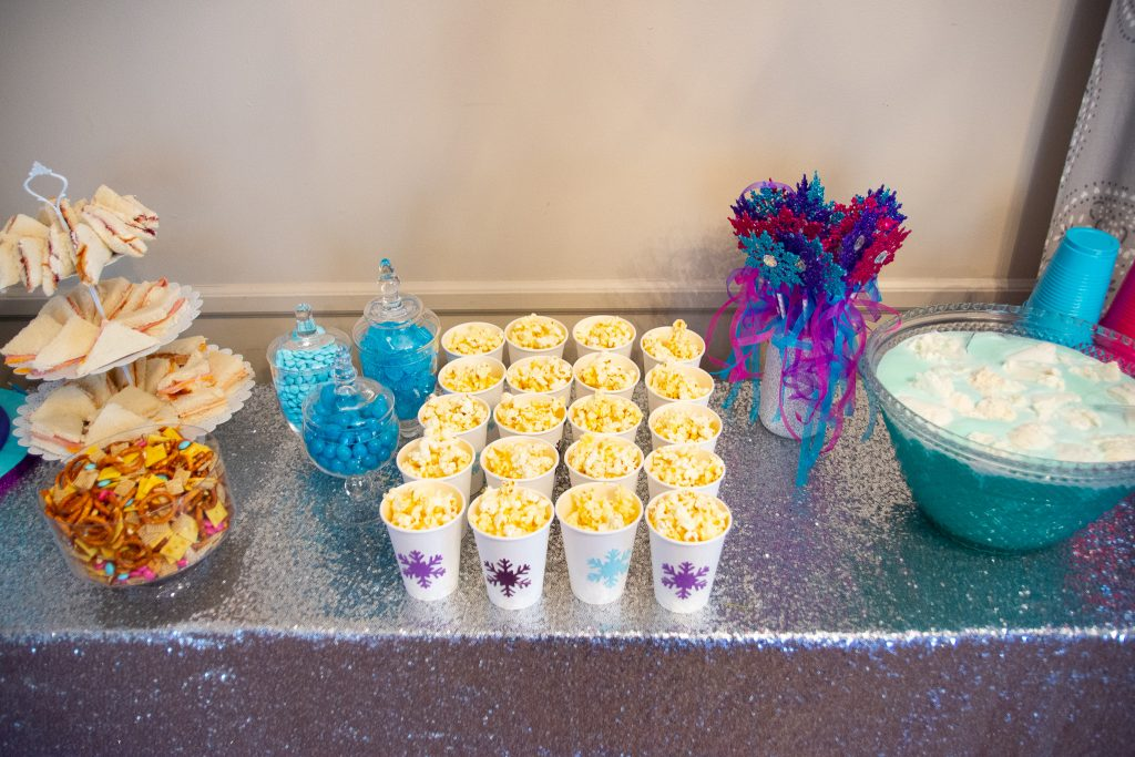 Frozen-themed Party Food