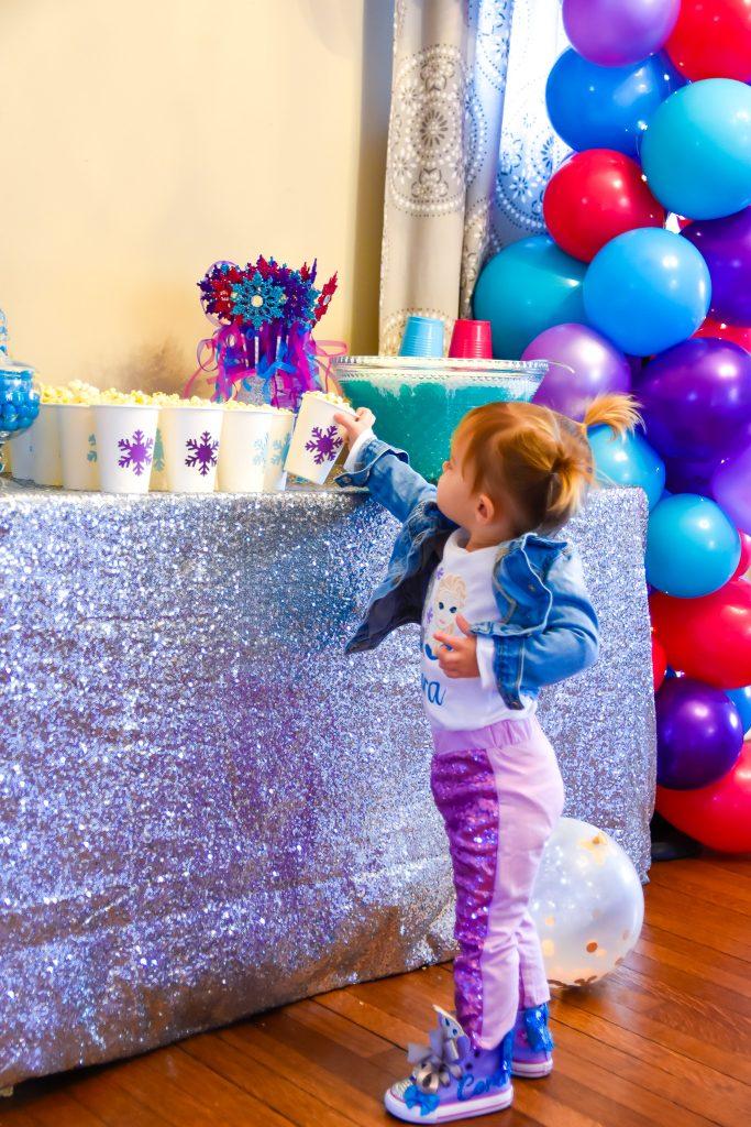 Disney Frozen Birthday Party Decor