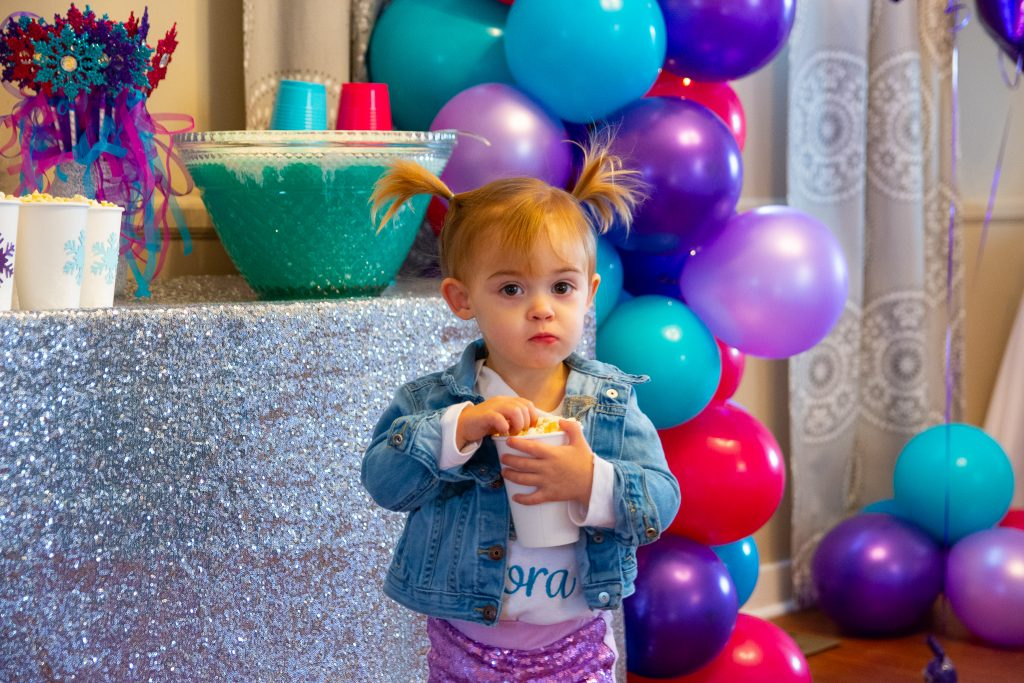 Frozen-themed 2nd Birthday Party