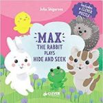Max the Rabbit plays hide and seek