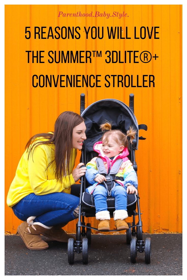 Toddler Stroller- SUMMER™ 3DLITE®+ CONVENIENCE STROLLER