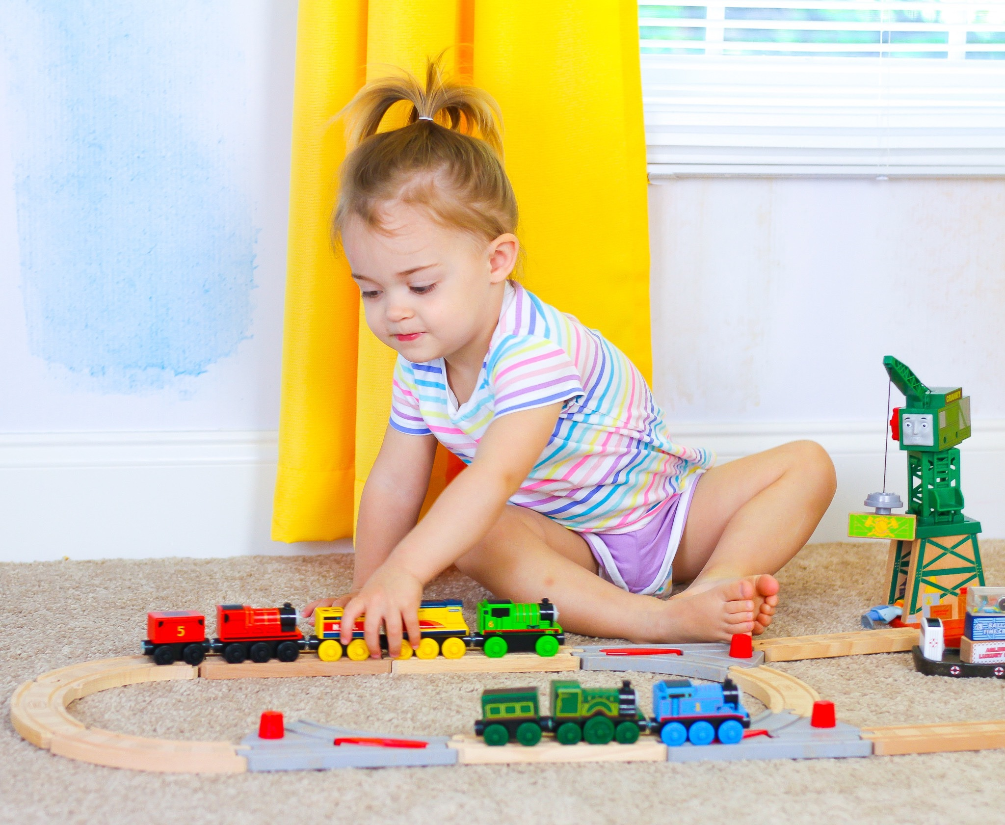 Toddler Train Track