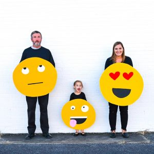 Family Halloween Costume Emoji