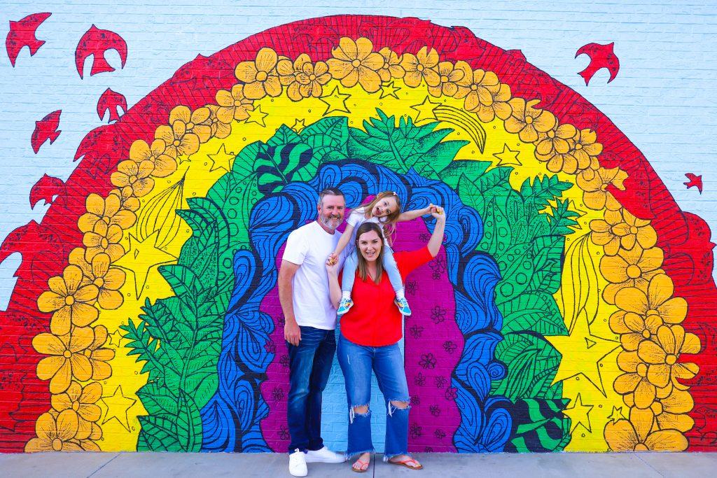 Nashville Rainbow Mural